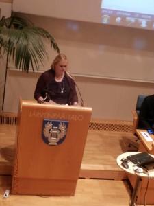 Meidän Kristiina puhui mm. siitä, etteivät kaikki aiemmatkaan tulijat ole onnistuneet Järvenpäässä.